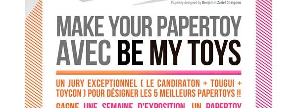 Le candiraton – Concours Papertoys x Be My Toys festival x Tougui