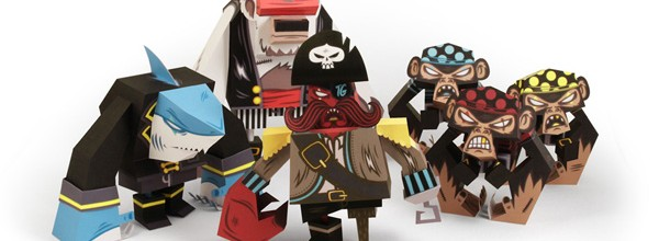 Pirates – New PaperToys!