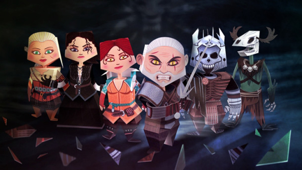 The Witcher 3 Papercraft