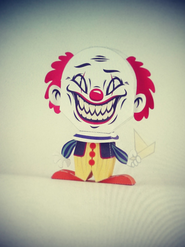 Pennywise the Clown Paper Toy