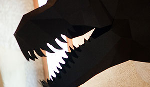 Paper T-Rex