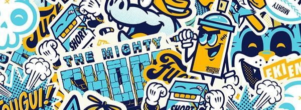 Le Sticker Pack #1 – Tougui x Ekiem x Mighty Short