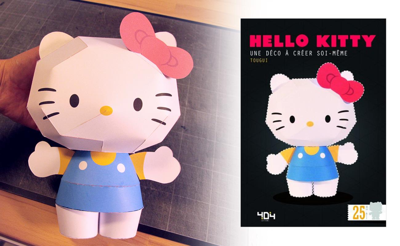 tougui_Hello_kitty_papertoy_1